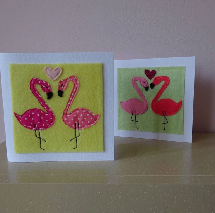 A personal favourite from my Etsy shop https://www.etsy.com/uk/listing/528664843/same-sex-wedding-card-flamingo-card