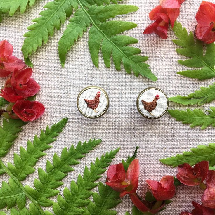 Last chance for chicken earrings! I will be retiring these tiny chicken earrings to make room for new items! They will be available until…