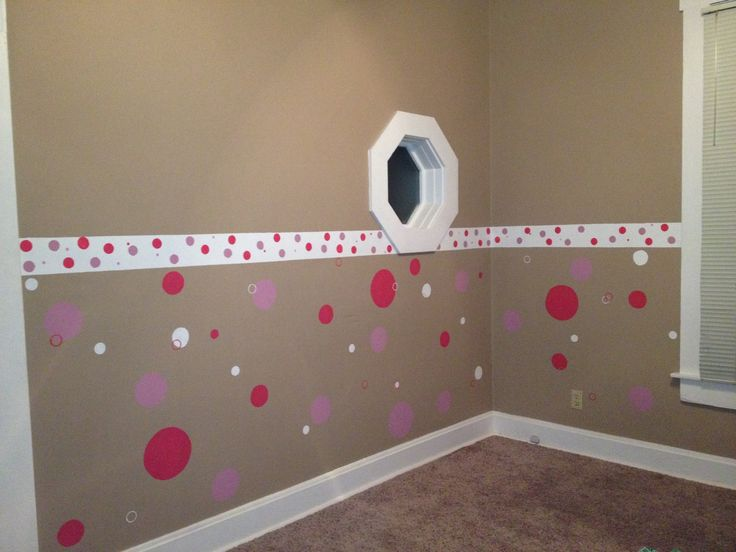Polka dots for girls 39 bedroom decorating ideas pinterest for Girls bedroom paint ideas polka dots