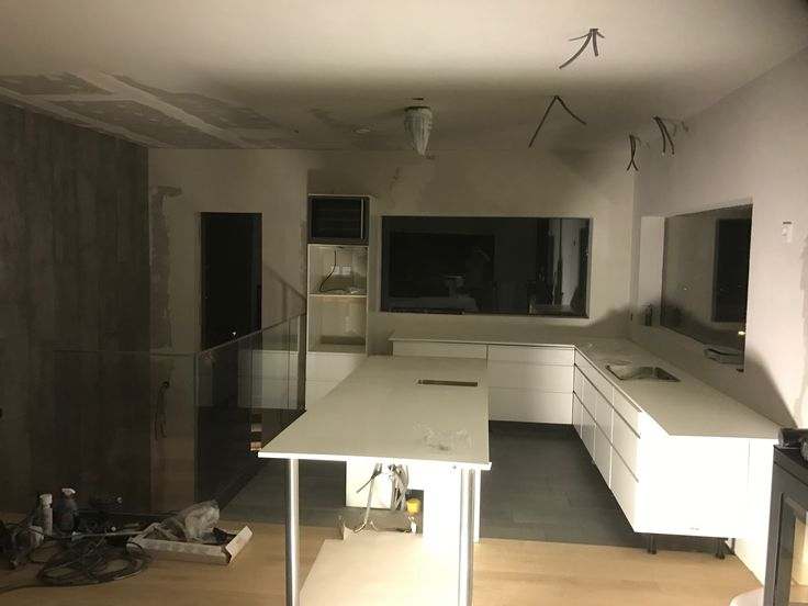Kitchen soon to be finished.