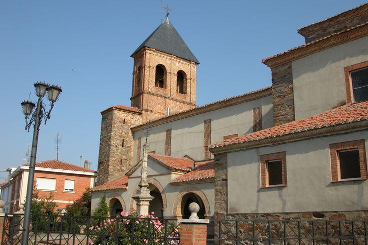 Iglesia parroquial de Santiago Apóstol, Villares de Órbigo, León, Camino de Santiago