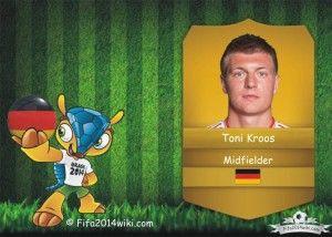 Toni Kroos - Germany Player - FIFA 2014