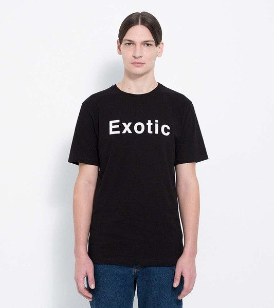 DOUBLE E T-SHIRT WITH PRINT · BLACK