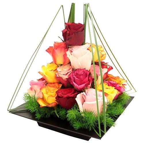 Les 25 meilleures id es de la cat gorie compositions - Composition florale anniversaire ...