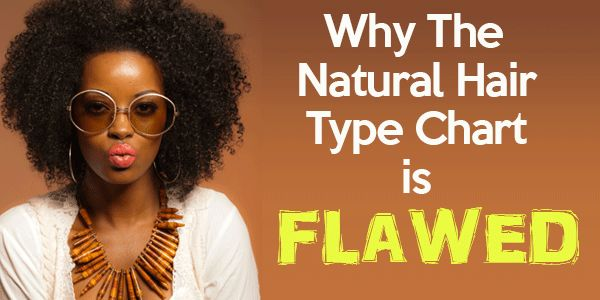Why The Natural Hair Type Chart is Flawed