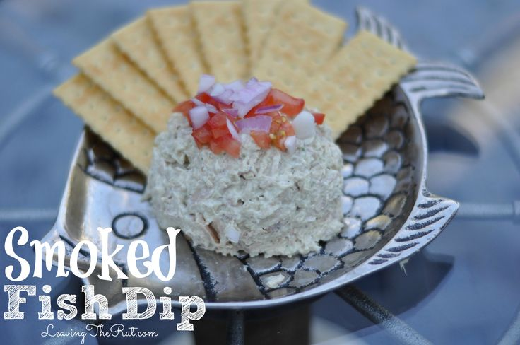 Smoked Fish Dip. Use any smoked fish for this easy dip. Smoke your own or buy pre-smoked fish.  www.leavingtherut.com