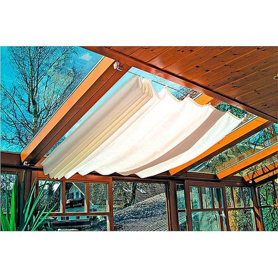 Sonnensegel Weiß 270 cm x 140 cm im OBI Online-Shop