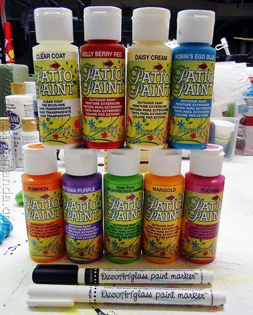 Painted Rock Garden Markers by @amandaformaro - CraftsbyAmanda.com...tutorial for making!!