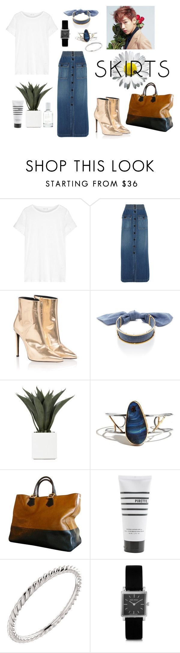 """""""""""If you must have a t-shirt, it must be cashmere"""" -Parisian lady."""" by anmabel on Polyvore featuring Helmut Lang, Chloé, Balenciaga, Monica Sordo, Bambam, Fendi, Pirette, Wish by Amanda Rose, Isabel Marant and Splendid"""