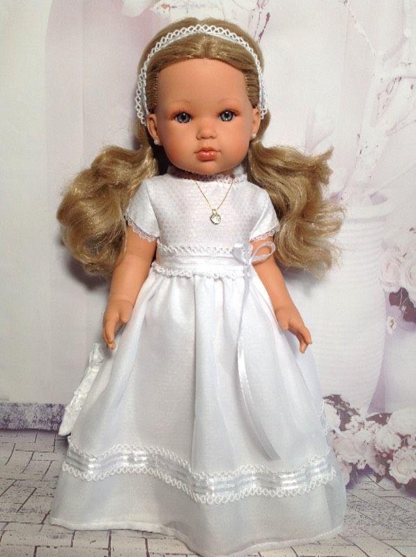 """Кукла Белла(5) """"Первое причастие"""" от Антонио Хуан(Antonio Juan Munecas).Коллекция 2015 года. / Игровые куклы / Шопик. Продать купить куклу / Бэйбики. Куклы фото. Одежда для кукол"""