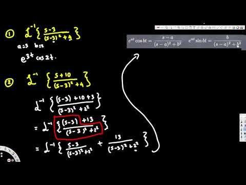 inverse laplace transform, #3 -  Differential Equations