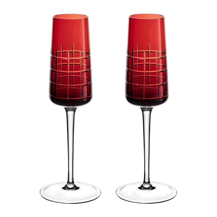 Christofle - Graphik Champagnerflöten - 2er-Set - Rot Jetzt bestellen unter: https://moebel.ladendirekt.de/kueche-und-esszimmer/besteck-und-geschirr/glaeser/?uid=3d049a0d-9ce4-501f-8324-2b67d0b534d0&utm_source=pinterest&utm_medium=pin&utm_campaign=boards #geschirr #champagnerflöten #kueche #glaeser #glasware #esszimmer #besteck #schalen Bild Quelle: amara.com