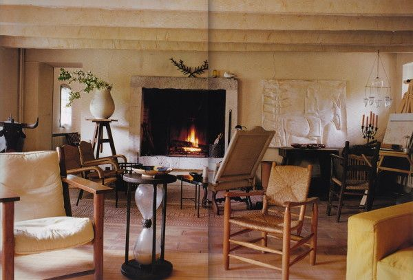 115 best jacques grange images on pinterest barn family rooms and front rooms for Jacques grange interior design
