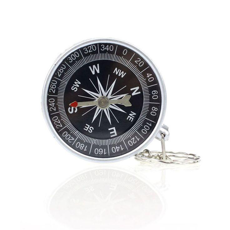 Keychain Outdoor Camping Plastic Compass Hiking Hiker Navigation SEP 20 #CLICK! #clothing, #shoes, #jewelry, #women, #men, #hats, #watches