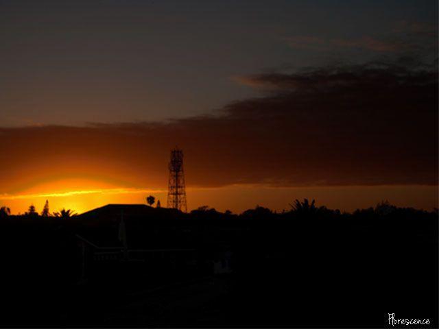 Sunset, Port Elizabeth, December 2010, (c) Florescence