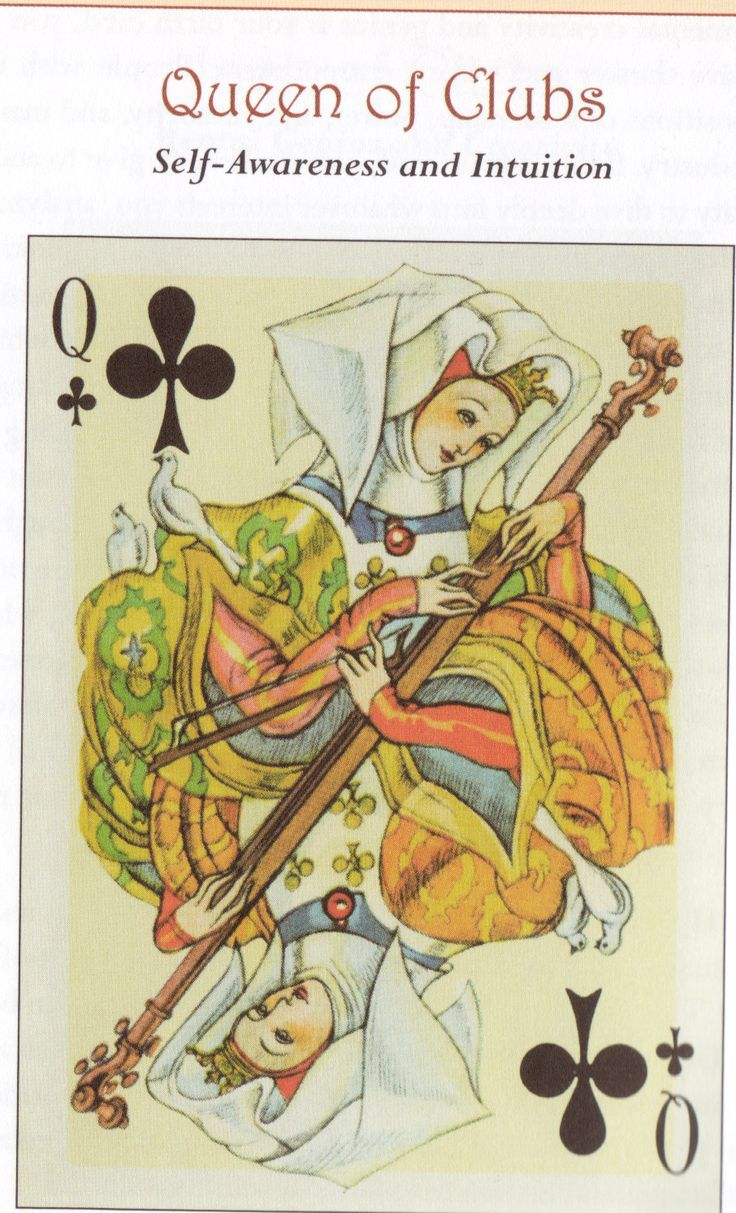 QUEEN OF CLUBS
