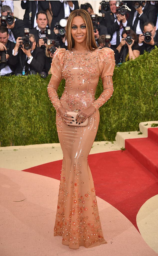 Beyoncé from Met Gala 2016: Best Dressed Stars  Leave it to Queen B to shut down the carpet...in pretty latex, of course.