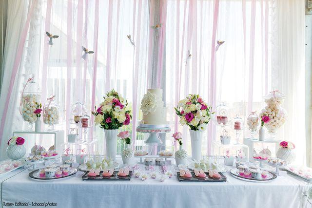decoraç u00e3o mesa bolo primeira comunh u00e3o fotos Pesquisa Google Primeira comunhao Pinterest  -> Decoração De Festa Para Primeira Comunhão