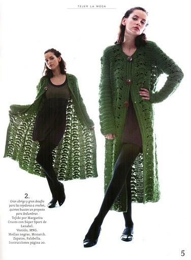 crochet sweater coat