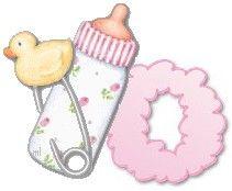 Alfabetos Lindos: Alfabeto do bebê - baby alphabet - Gifs lindas de coisinhas de Bebê!