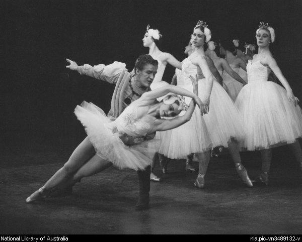 Swan Lake, Victorian Ballet Guild, Palais Theatre, 1962