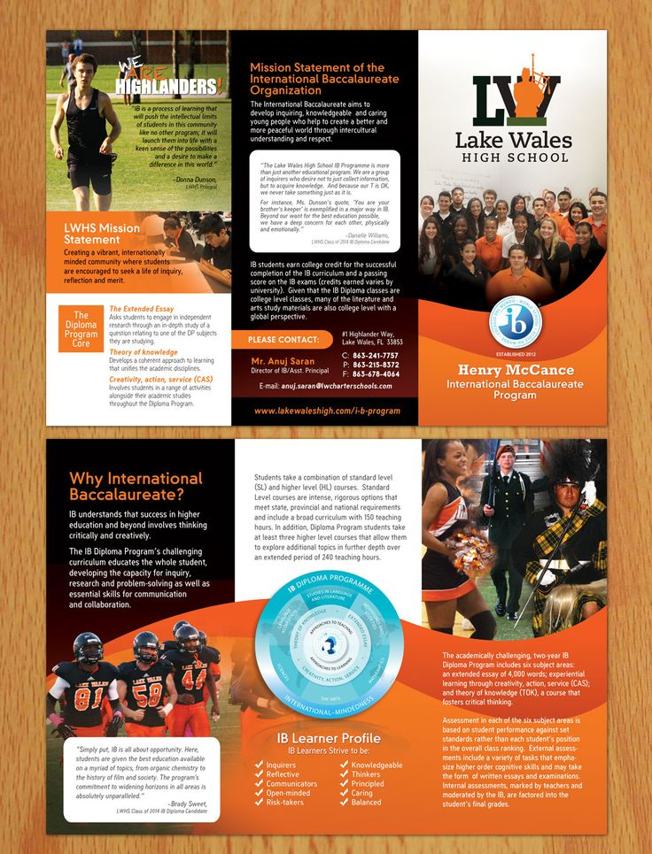 NOT A CONTEST! Brochure design #29 by jay000