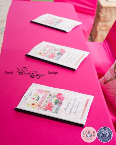 Printed workbooks containing all the details of this workshop.