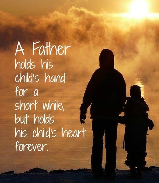 Message about a Father's Role in his Child's Life #fathers #Father's Day