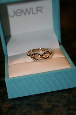 Infinity promise ring;)