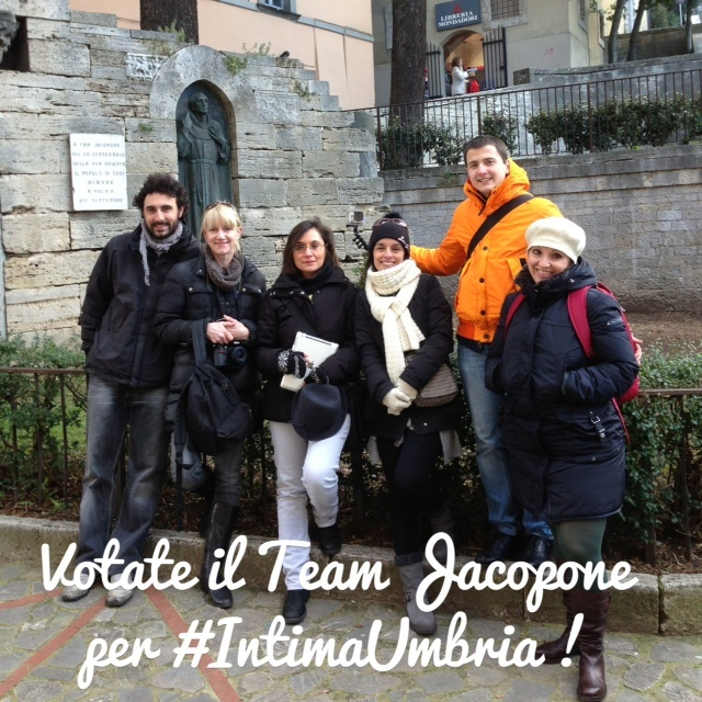 Votate!!! Vote for #teamJacopone #intimaumbria! :)
