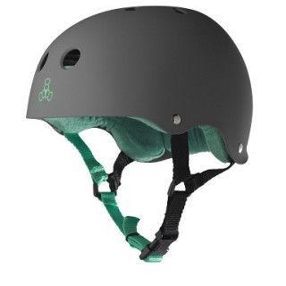Triple Eight Brainsaver Skate Helmet with Rubber Finish