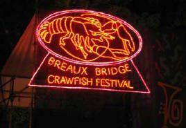 South Louisiana Cuisine: Breaux Bridge Crawfish Festival