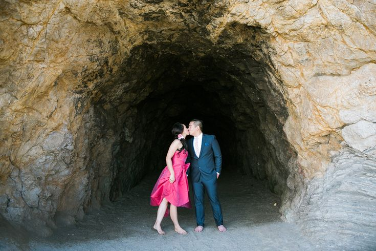 San Francisco Engagement Session: Sutro Baths & Golden Gate Park – Vannia + Felix