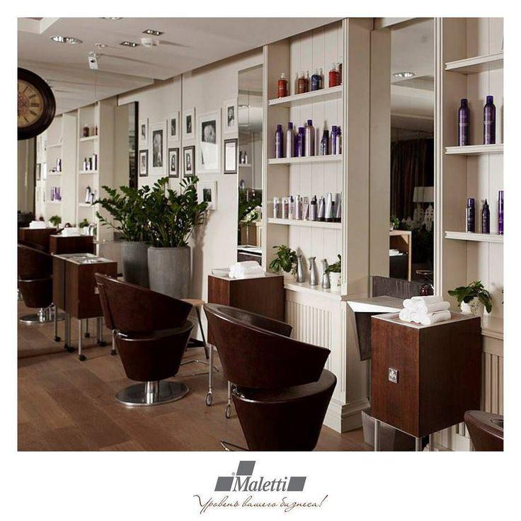 Испанский стиль в салоне красоты.  Являясь одним из направлений европейского стиля испанский дизайн богат коричневыми тонами символизирующими домашний уют. Особой изюминкой можно назвать темную коренастую массивную мебель гармонично сочетающуюся со светлыми стенами и легкими предметами декора.  #салонкрасоты #парикмахерская #мебель #красота #maletti #малетти #beauty #hair #relax #spa #релакс #style #showroom #luxury #premium #премиумкласс #дизайнер #архитектор #архитектура #дизайн…