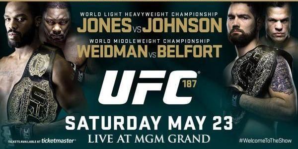 Watch UFC 187: Johnson vs. Cormie