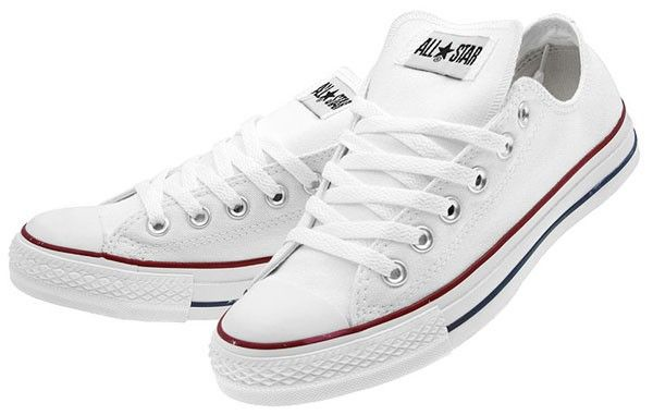 White Cons, I couldn't pack for a holiday without them, pair with jeans, shorts and even the odd skirt White Chuck Taylor All Starts from Converse  £60