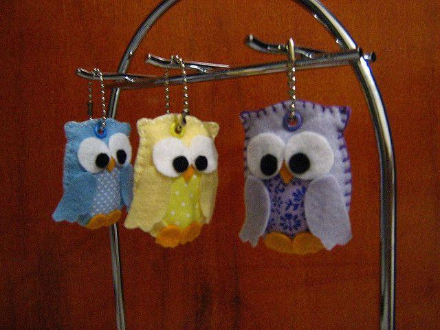 Cute little stuffed owls