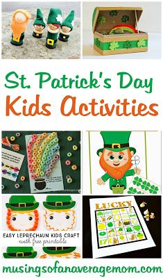 St. Patricks Day Kids Activities