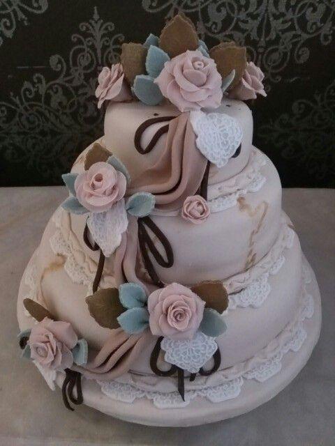 My sisters wedding cake :D