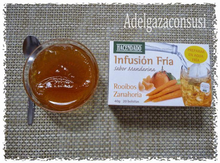 Recetas Light - Adelgazaconsusi: Gelatina de mandarina con tan solo 12kcal!!!