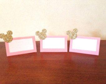 Minnie Cupcake Toppers décorations de par BlingGlitterAndMore
