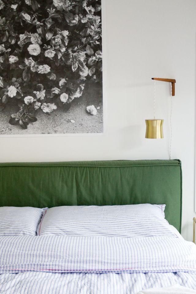 bedroom headboard // sarah sherman samuel