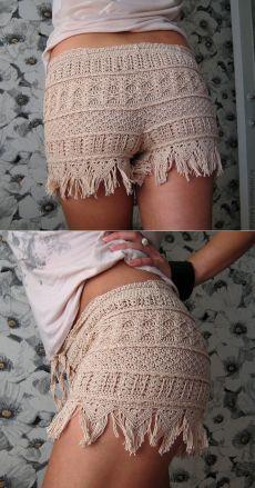 """Купить Шортики """"Воображульки"""" - шорты, шортики, шорты крючком, вязаные шорты, летняя одежда"""
