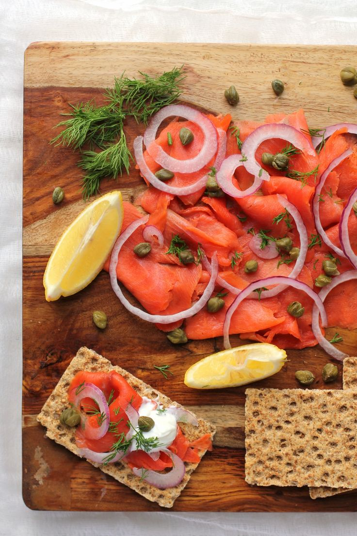 Smoked Salmon Platter A Healthy Appetizer Perfect For
