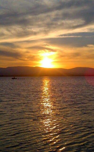 Sunset over Pongola - Kwa-Zulu Natal