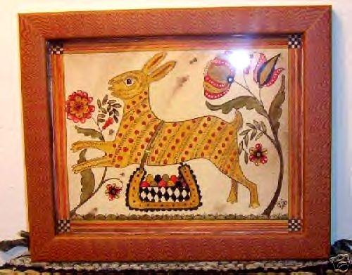 Modern Fraktur -- rabbit
