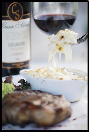 VIna Casa Silva Restaurant.. steak and wine. #Colchagua