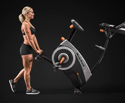 NordicTrack GX 4.4 Pro Upright Bike Review - The GX 4.4 Pro is an upright, or stationary bike, from NordicTrack's series of exercise bikes. This bike is an excellent entry-to-mid-level upright bike that offers a wide variety of workout programming.