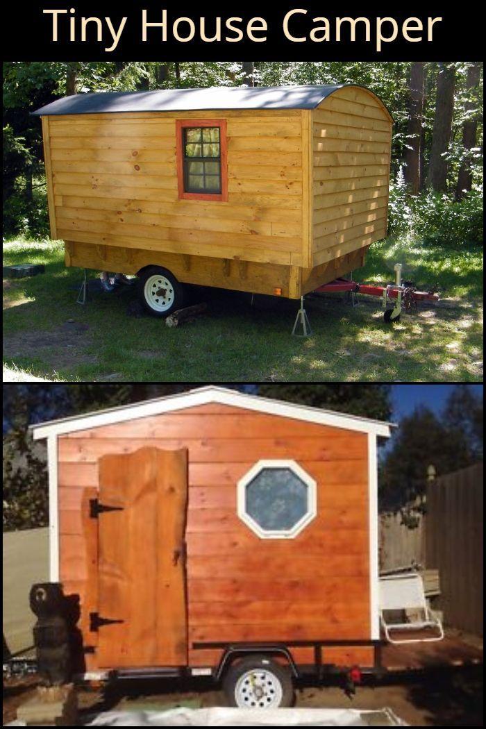 Tiny House Camper Tiny House On Wheels House On Wheels Tiny House