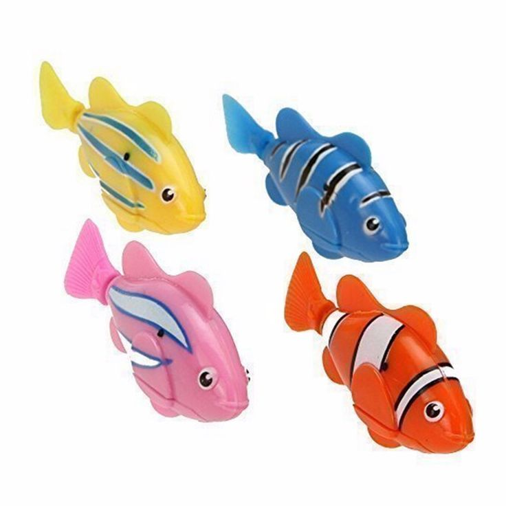 Children Activated Robotic Fish can Swims Fish Pet Fish With Aquatic Gift Swimming Fish clownfish Toy Funny Electric Toy
